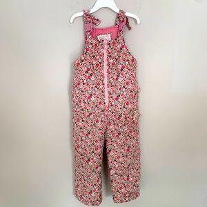 OshKosh Pink Floral Snowsuit